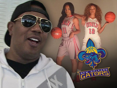 Master P Signs Gonzalez Twins To New Coed Basketball League