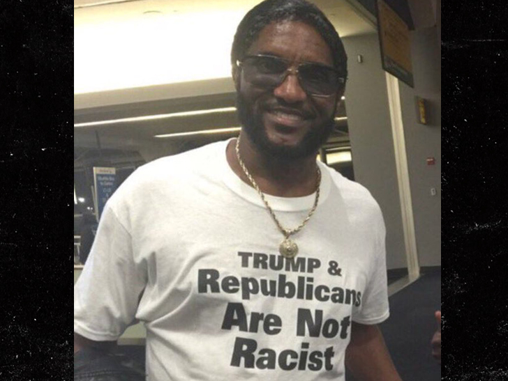 Shoe Shining Blacks For Trump Coon Once Charged With Murder Conspiracy
