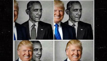 President Trump Eclipses President Obama ... in Corny Retweets