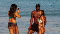 D-Wade & Gabby Recruit Thong Chick for Couples Pic