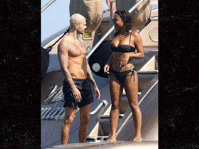 Christina Milian Frenching 'Voice' Coach Matt Pokora on a Yacht