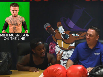 Mini Mayweather Mcgregor News Conference: Biggest Little Trash Talk!!