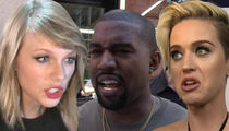Taylor Swift Lashes Out at Kanye, Katy with 'Look What You Made Me Do'