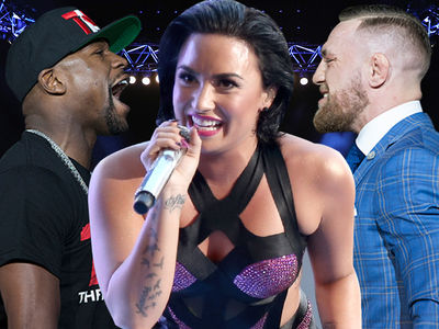 Mayweather vs. McGregor Prop Bets: Bank on Demi Lovato's Boobs!!