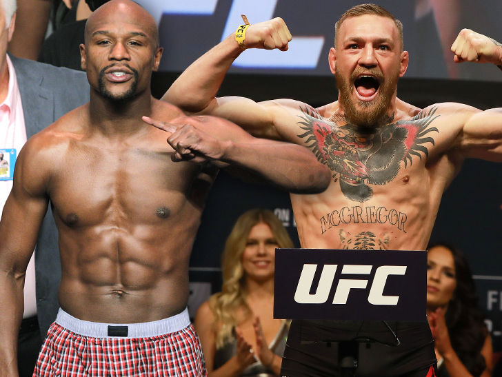 Mayweather vs. McGregor: Official Weigh-In (Live Stream)