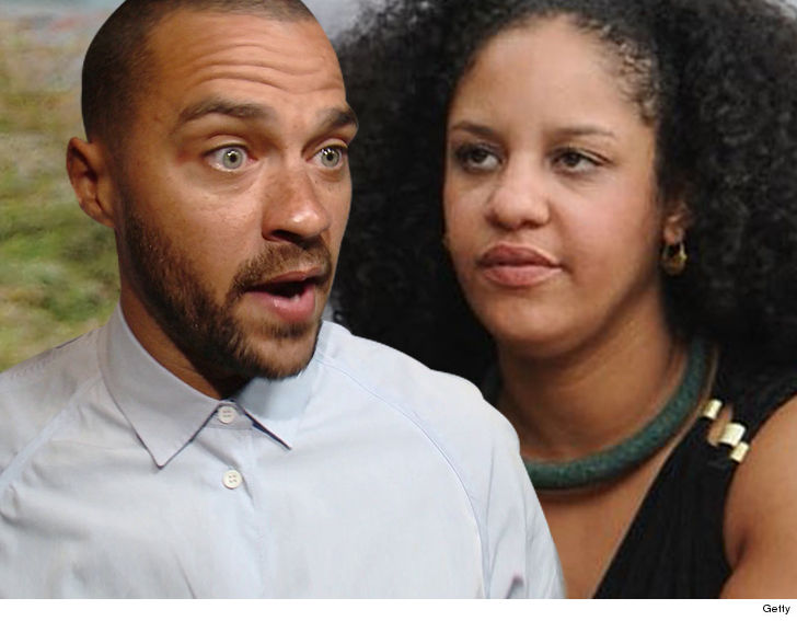 Jesse Williams: 'My estranged wife is the one with the temper'