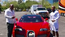 Floyd Mayweather Drops Millions On New Bugatti, Pre-Fight Present!