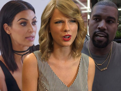 Taylor Swift's New Song Is Only About Kanye West & Kim Kardashian