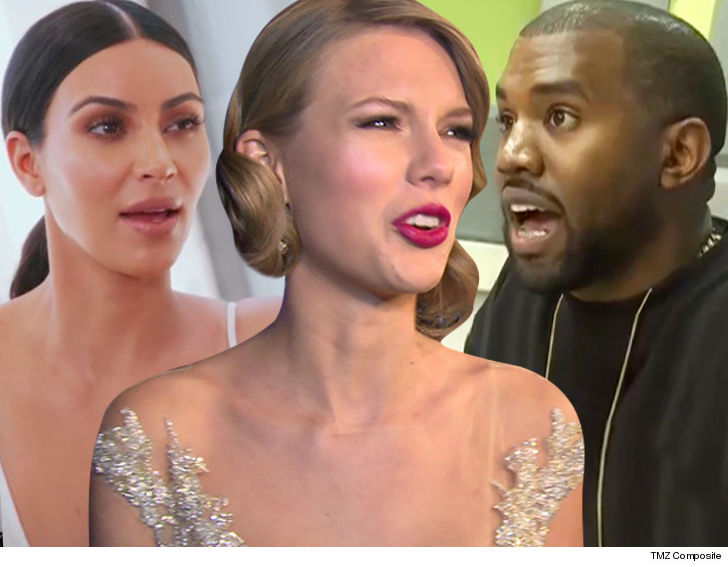 Taylor Swift in 'one-way feud' with Kim Kardashian, Kanye West