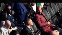 Steve Harvey Wins Mayweather vs. McGregor, Better Seat Than LeBron & Diddy