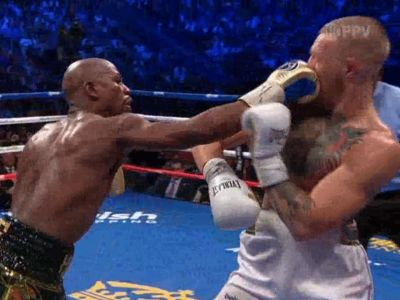 Floyd Mayweather Beats Conor McGregor, But It Was Close!!!