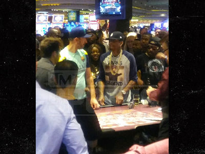 Allen Iverson Bets Stacks at High Limit Roulette After BIG3 Championship Game