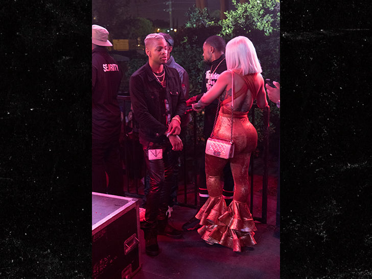 Blac Chyna Back with Mechie at High Life Music Festival