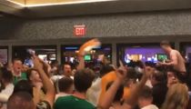 Conor McGregor, Irish Fans Party Wildly After Mayweather Fight