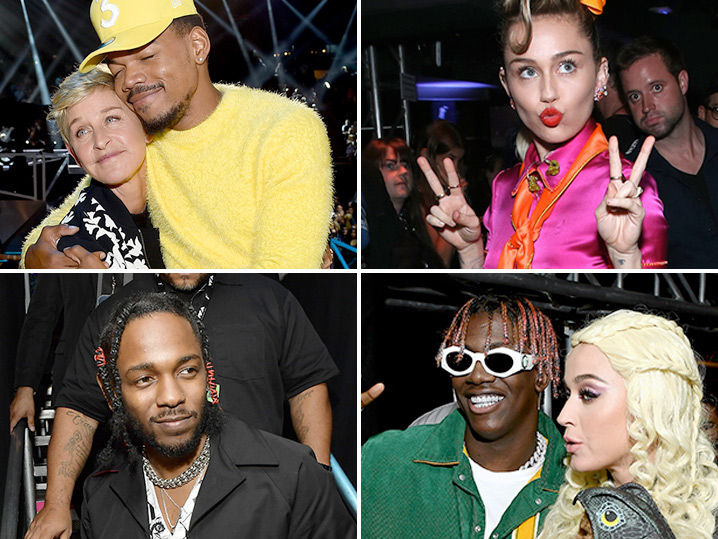MTV Video Music Awards Behind the Scenes Photos