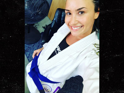 Demi Lovato Gets Badass New Belt In Brazilian Jiu-Jitsu