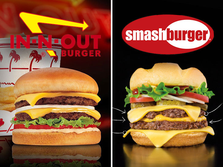 In-N-Out Sues Smashburger for Playing 'Double-Double' Name Game