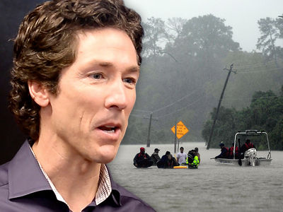 Joel Osteen's Houston Megachurch Can't Open Because of Flood Waters