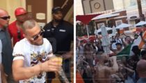 Conor McGregor Hits Vegas Pool Party After Fight, I'm No Loser!