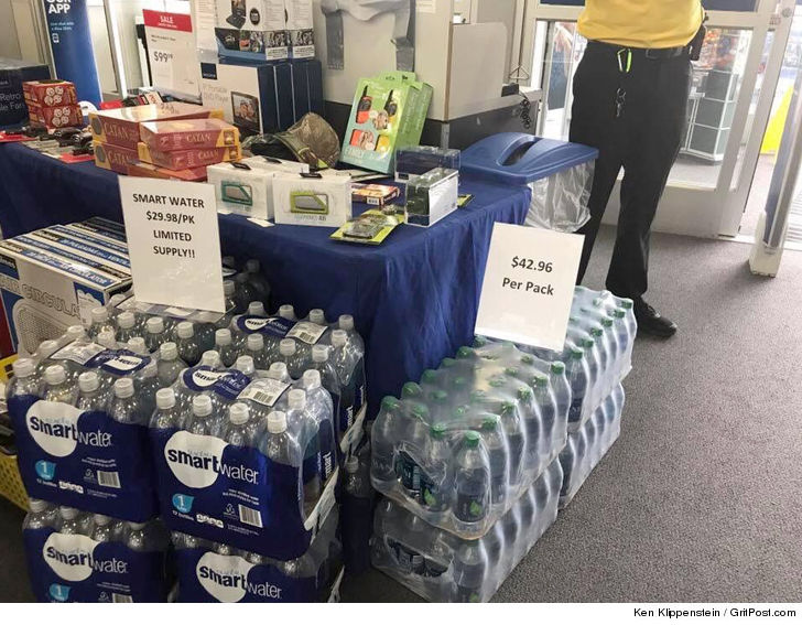 Best Buy apologizes for price-gouging on bottled water in Houston