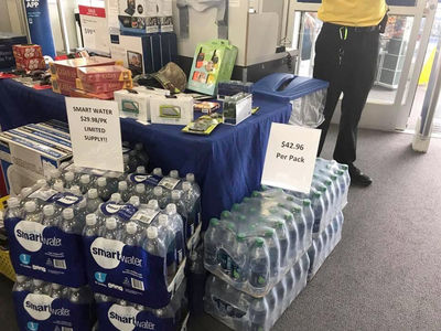 Best Buy Apologizes for Price Gouging Water During Hurricane Harvey