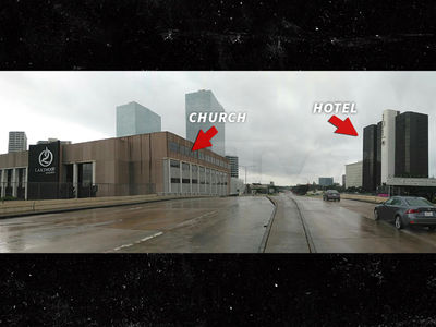 Joel Osteen's Church Was Fully Accessible During Harvey, Neighboring Hotel's Biz Was Booming