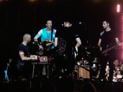 Coldplay Performs Touching 'Houston' Tribute for Harvey Victims
