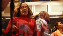 Phaedra Parks Catches The Holy Spirit in Church