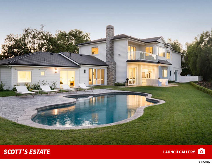 Scott Disick's stunning Hidden Hills home is up for rent, if you got $60k a month to spare, but not just anyone is eligible for a walk-thru.
