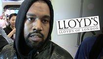 Kanye West Countersued by Lloyd's of London (UPDATE)