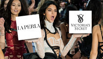 Kendall Jenner Struts Away from Victoria's Secret for La Perla Job