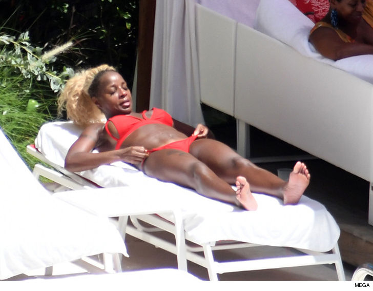 Mary j blige bikini speaking, opinion
