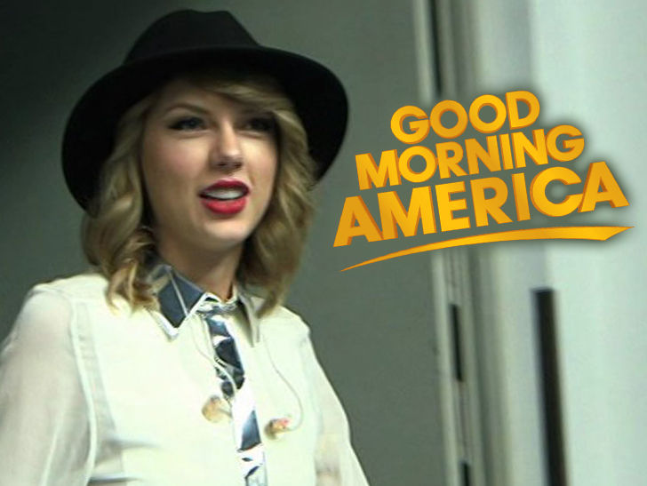 Good Morning America Performances : Taylor swift not doing mysterious good morning america