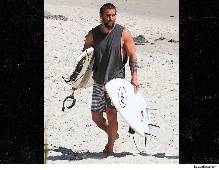 Jason Momoa Spends 'Aquaman' Break with Beer and Surf ... Amber Heard Tmz