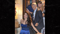 Amal and George Clooney at Venice Film Festival