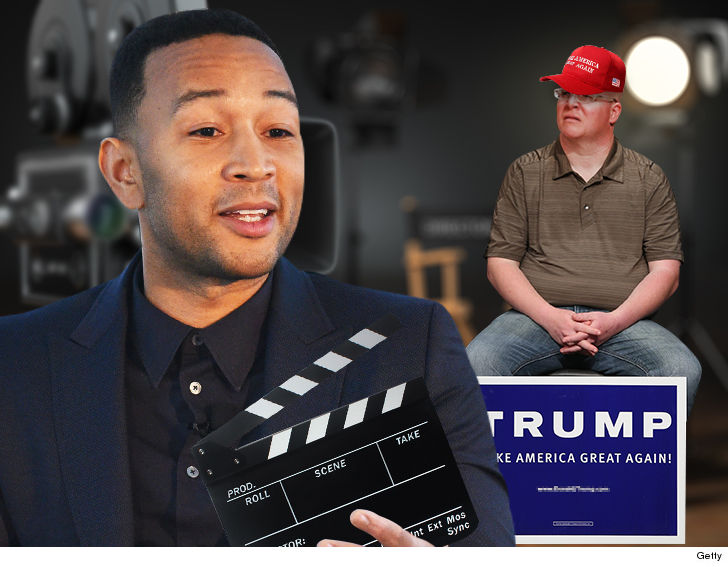 John Legend denies issuing casting call for fat Trump supporters