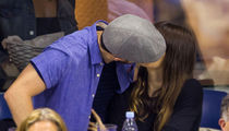 Justin Timberlake Jessica Biel, Love Set at U.S. Open