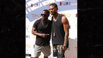 Kevin Hart and Usher Bro Down at Vegas Pool Party
