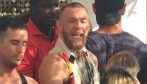 Conor McGregor Gets Hero's Welcome at Ibiza Beach Club
