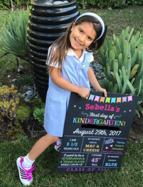 Roselyn Sanchez's Daughter