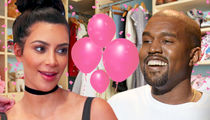Kim Kardashian and Kanye West's New Baby, It's a Girl!!