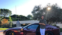 Cristiano Ronaldo Flexes with New $500k Ferrari