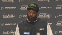 Michael Bennett Gets Emotional, Leaves Podium at Seahawks News Conference