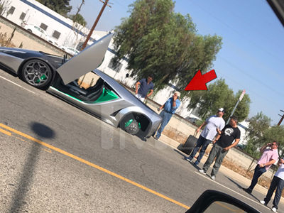 Jay Leno's Super Expensive Whip Suffers Major Tire Trouble