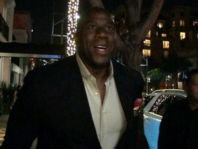 Magic Johnson Speaks On Lakers Tampering Fine, Paul George