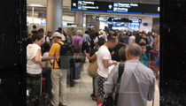Hurricane Irma Evacuees Swarm Miami International Airport