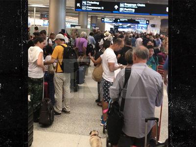 Hurricane Irma Evacuees Swarm Miami International Airport