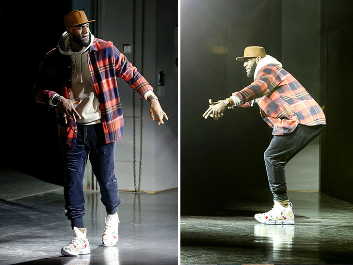 Lebron James Hits Runway with Scottie Pippen In NY Fashion Show
