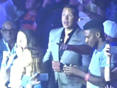 A-Rod Rocks Out Dancing with Daughters at J Lo Vegas Concert