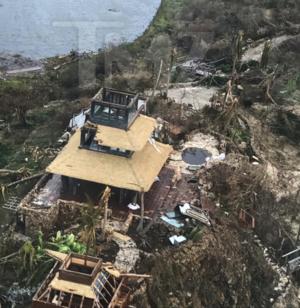 Necker Island Destroyed By Hurricane Irma